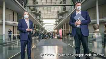Newsblog: K-Frage in Union – Söder gegen Laschet: Showdown am Montag