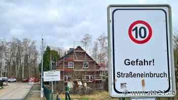 In Lauchhammer sacken die Häuser ab | Umsiedlungen wegen Rutschungsgefahr - rbb24