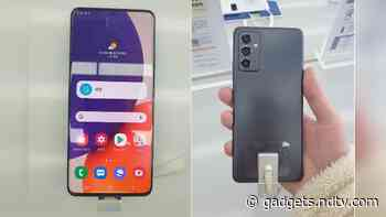 Samsung Galaxy Quantum 2 aka Galaxy A82 5G Live Images Surface Online Ahead of Expected April 23 Launch