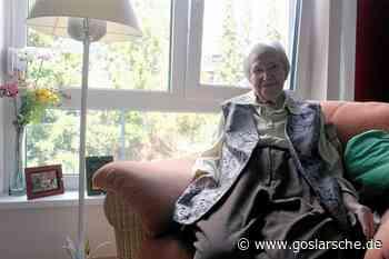 Gerda Vogt feiert heute ihren 100. Geburtstag - Bad Harzburg - GZ Live