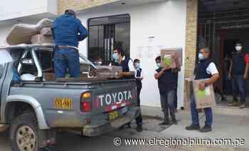 ODPE Sullana despliega material electoral a Ayabaca y Talara - El Regional