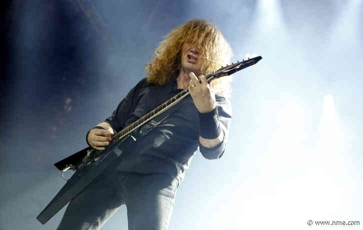 "Megadeth in ""final hours"" of recording their next album"