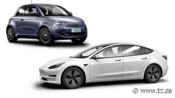 Tchibo: Auto-Abo für Tesla und Elektro-Fiat - Autos im Abo - tz.de
