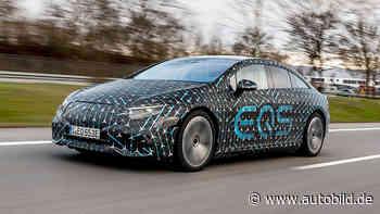 Mercedes EQS 580: erste Fahrt im Prototyp der Elektro-S-Klasse - autobild.de