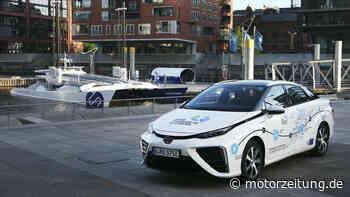 Toyota Mirai - Toyota beteiligt sich an französischem Elektro-Katamaran-Start-up - MotorZeitung.de
