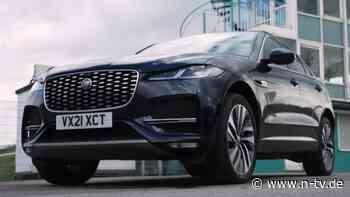 Gruß an den Elektro-Bruder:Jaguars F-Pace überzeugt mit runderneuertem Innenraum - n-tv NACHRICHTEN
