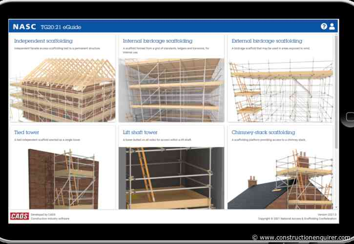 TG20:21 scaffolding software now on sale