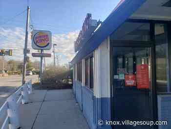 Rockland tells Burger King to remove, cover sign - By Stephen Betts - Courier-Gazette & Camden Herald