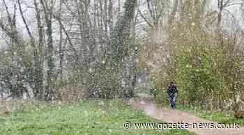 Essex weather: Sleet and snow showers warning for today