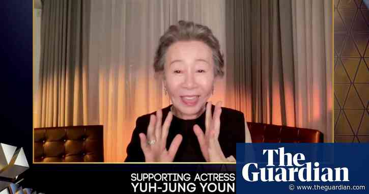 Baftas 2021: moments of joy and surprise from the online acceptance speeches – video