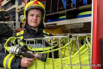 Jüngstes Feuerwehrmitglied wartet auf den großen Einsatz - Freie Presse