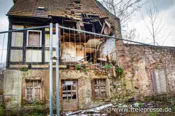 Verfallenes Kunstwärterhaus am Schloss wird abgerissen - Freie Presse