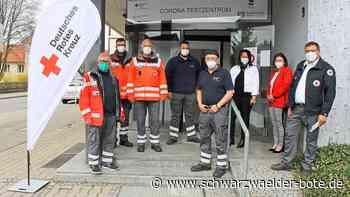Mobiles Test-Team weiter unterwegs: Neues Corona-Testzentrum in Rottenburg ist in Betrieb - Schwarzwälder Bote
