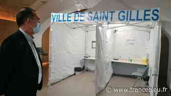 Coronavirus : un centre de vaccination éphémère à Saint-Gilles, dans le Gard - France Bleu