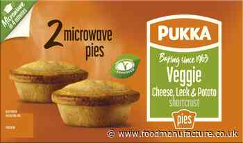 Pukka at the double with twin pack convenience pie launch