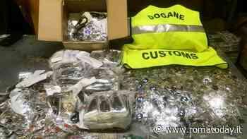 Ciampino, fermato carico di prodotti falsi in aeroporto: gli ordini spediti via internet
