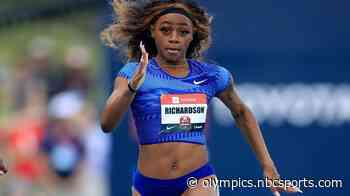 Olympic favorite? Sha'Carri Richardson 'sends shockwaves' with 100m time - Home of the Olympic Channel