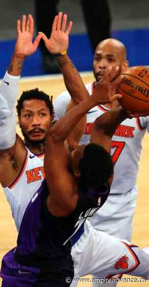 Knicks recover after blown lead to beat Raptors 102-96 - Virden Empire Advance