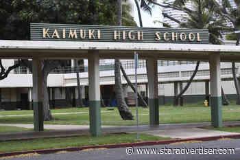 Hawaii schools report 47 new cases of COVID-19