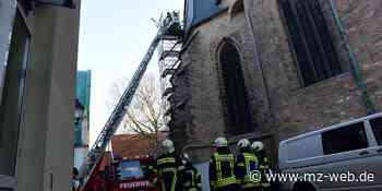 Eisleben: Mitarbeiter bei Arbeiten an St. Andreaskirche verletzt - Mitteldeutsche Zeitung