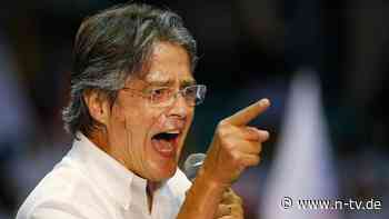 Konservativer Kandidat siegt: Ecuador wählt neuen Präsidenten