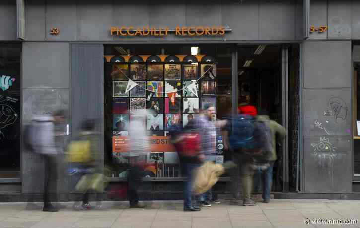 Record stores celebrate reopening as UK lockdown restrictions ease