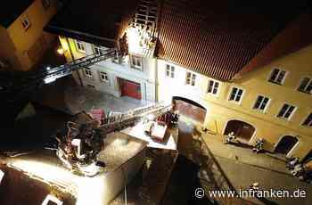 Kranunfall in Kitzingen: Wie die Drohne des THW den Helfern half