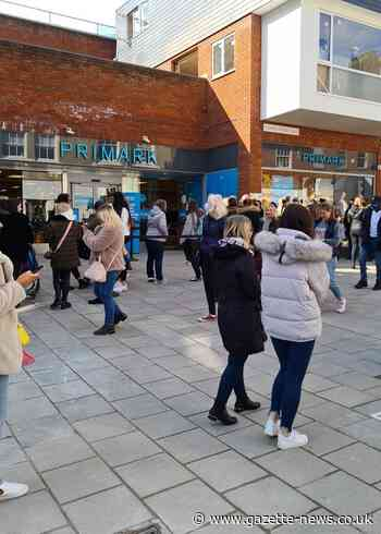 Primark: Large queues build outside Colchester store as shops reopen