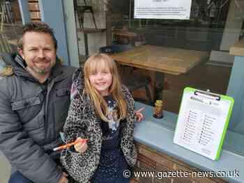 Residents of Brightlingsea hunt mini Bateman's Towers in charity trail