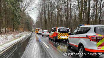 Rettungshubschrauber bei Unfall in Eichenzell-Döllbach im Einsatz - Osthessen News