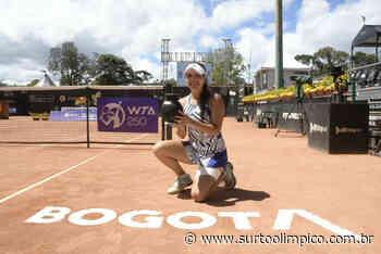 Tenista colombiana Maria Camila Osorio vence o WTA 250 de Bogotá - Surto Olímpico