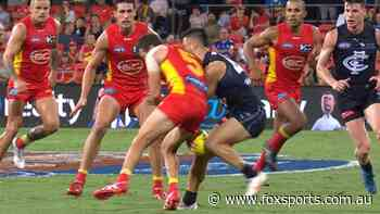 AFL greats left baffled by perplexing bump verdicts for two Round 4 incidents