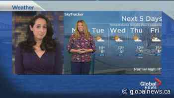 Global News Morning weather forecast: April 12, 2021