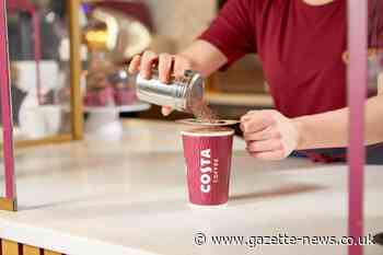 Costa Coffee offering hot drinks for 50p this week