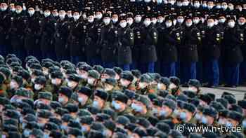 Sorge vor Krieg in Ostukraine: Kiew: Russland konzentriert 40.000 Soldaten