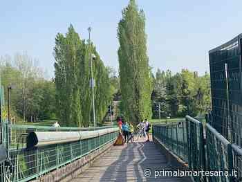 Per rifare il ponte ciclopedonale della Besozza Pioltello investe 230 mila euro - Prima la Martesana
