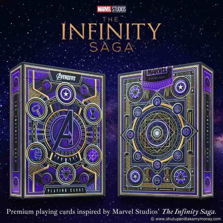 Avengers – The Infinity Saga Premium Playing Card
