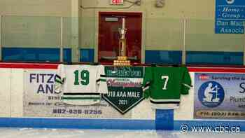 Hockey team wins P.E.I. title after 2 teammate deaths: 'We had to win it for them'