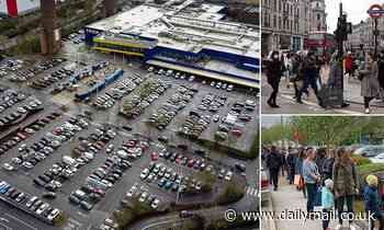 Traffic levels are up on last weeks as shopping centres and Ikea stores attract motorists