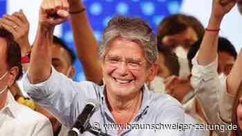 Präsidentenwahl: Konservativer Banker zum Präsidenten von Ecuador gewählt