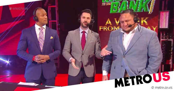 WWE's Tom Phillips and Samoa Joe removed from Raw commentary team as Adnan Virk takes the lead