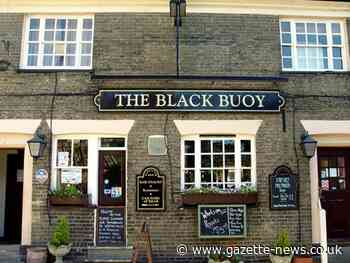 Business booming as Wivenhoe's Black Buoy pub reopens