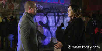 Christopher Meloni sees 'a world of possibility' for a Benson and Stabler romance
