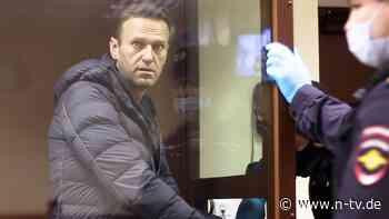 Bereits 15 Kilo verloren: Nawalny droht offenbar Zwangsernährung