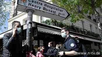 Ein Toter und eine Verletzte: Schüsse vor Pariser Klinik und Impfzentrum
