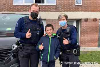 Lierse Lucas (10) helpt politie om vermist kindje en ouders te herenigen