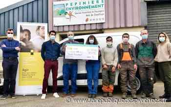 Serres-Castet : 12 000 € remis pour l'entreprise d'insertion - La République des Pyrénées