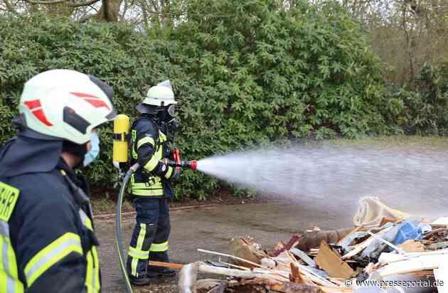 FFW Schiffdorf: Brennender Lkw - Fahrer kommt zur Feuerwehr