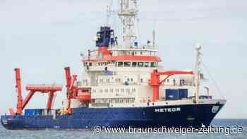 "Forschungsschiff: ""Meteor"" zu Expedition an Amazonas-Mündung gestartet"