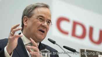 Bundestagswahlkampf: Union ringt um K-Frage: CDU für Laschet, CSU für Söder